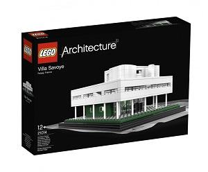 LEGO. Villa Savoye. Le Corbusier