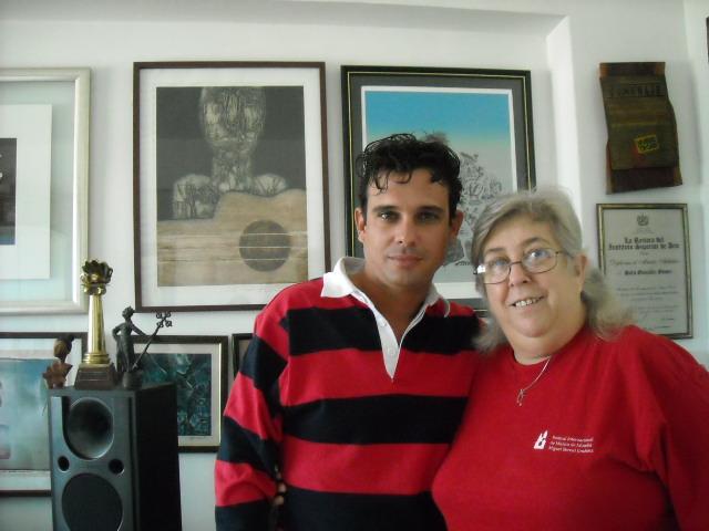 Sara González y Michael García Pérez