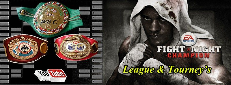 FIGHT NIGHT CHAMPION Leagues & Tournaments