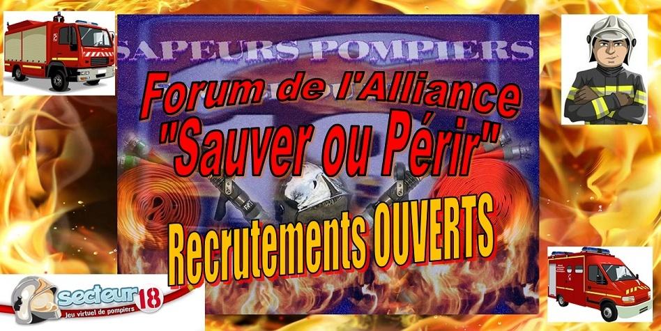 Forum de l'alliance Sauver ou Périr