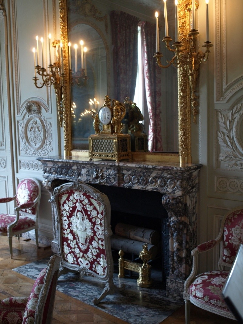 la visite du petit trianon le salon de compagnie. Black Bedroom Furniture Sets. Home Design Ideas