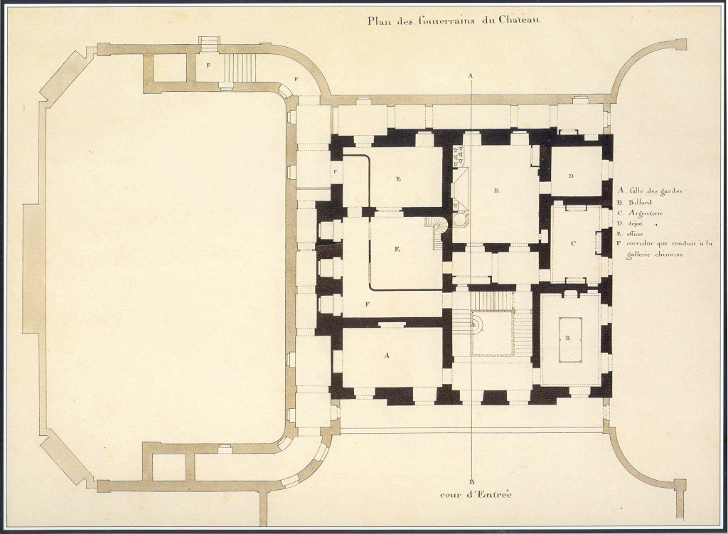 Plans du petit trianon for Plan trianon salle