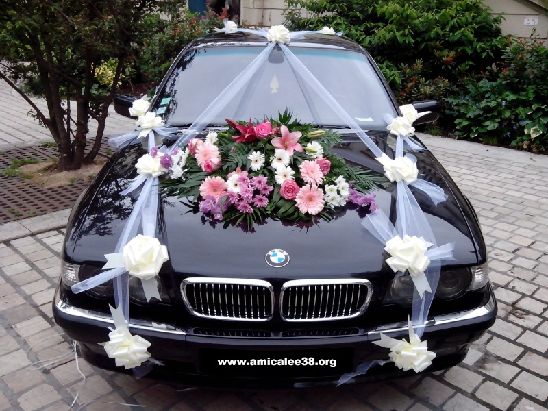 decoration voiture mariage lyon id es et d 39 inspiration sur le mariage. Black Bedroom Furniture Sets. Home Design Ideas