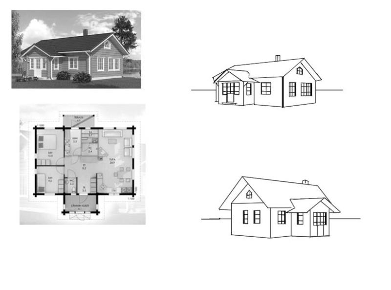 Comment dessiner une maison de luxe etape par etape for Modele maison a dessiner