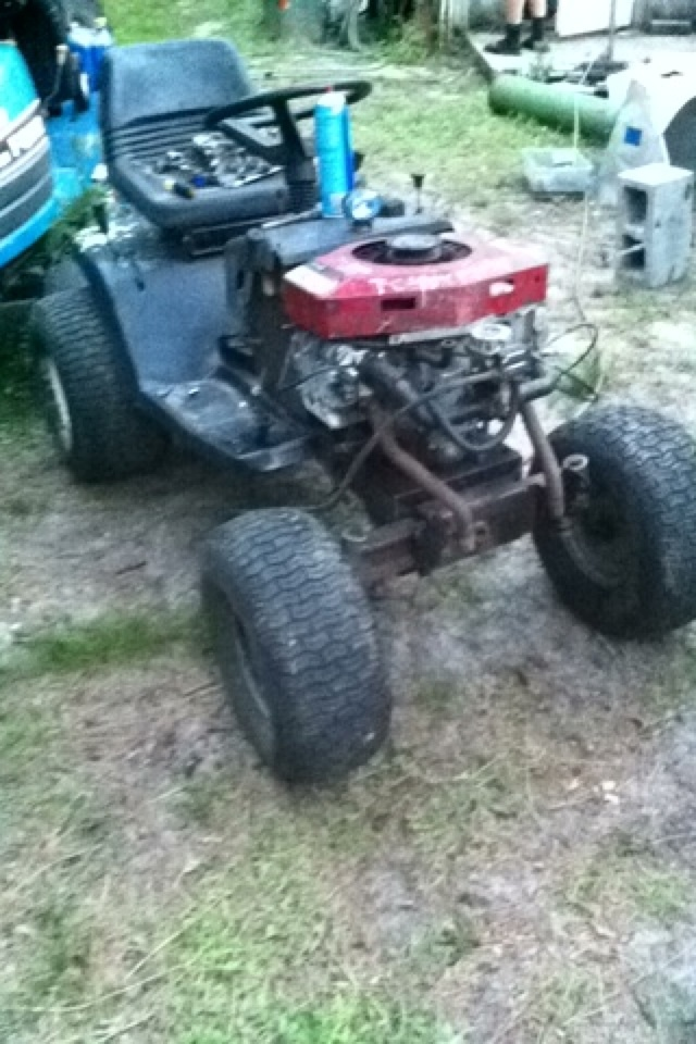 Murray Racing Mower : Murray select mud racing mower resurrection page