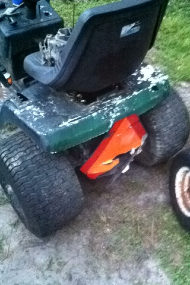 Murray Racing Mower : Murray select mud racing mower resurrection