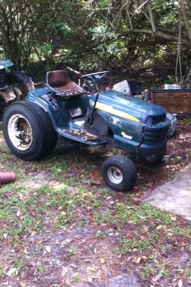 Mtd Mud Mowers : Craftsman lt mud mower build quot joey