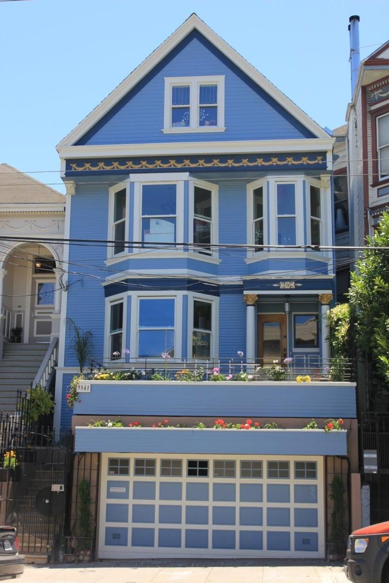 Afficher le sujet wip moc maison bleue et villa mexicaine - Chanson une maison bleue ...