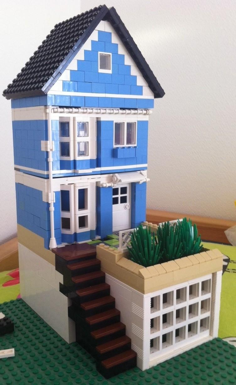afficher le sujet wip moc maison bleue et villa mexicaine. Black Bedroom Furniture Sets. Home Design Ideas