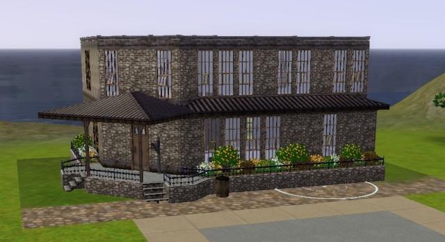 En pause construction sims 3 maison style loft for Construction maison style loft