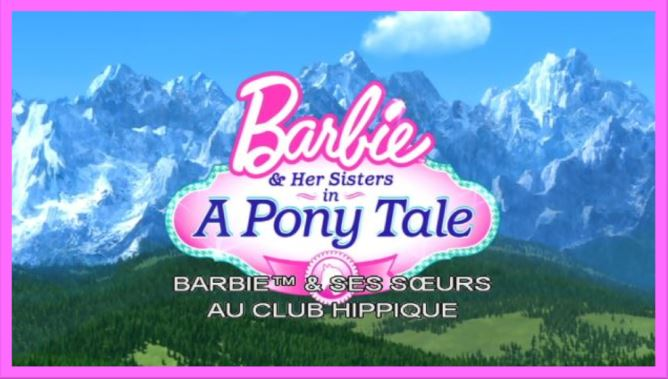 Barbie et ses s urs au club hippique 2013 f anim - Barbie club hippique ...