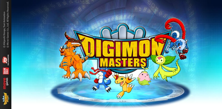 Korean Digimon Masters Online
