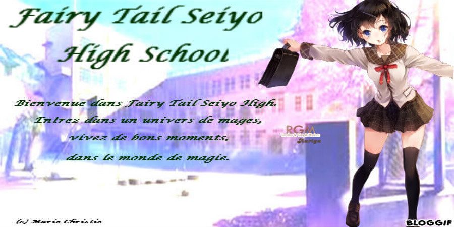 Fairy Tail Seiyo High School