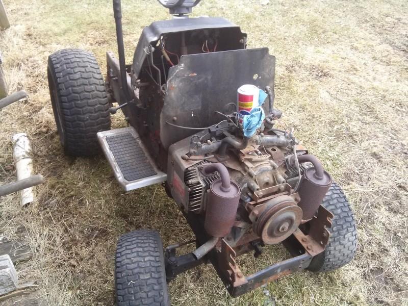 Craftsman Gt6000 Attachments : Craftsman gt work tractor build