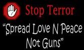 STOP DEN TERROR !