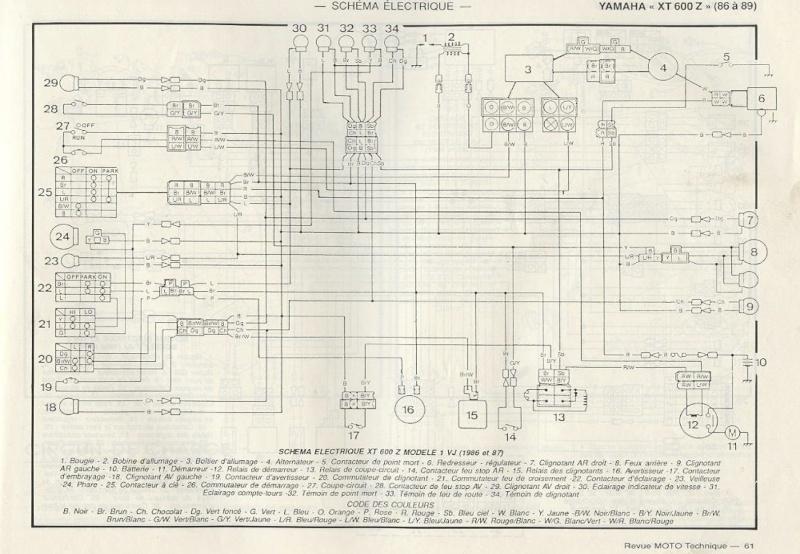 Schema Elettrico Xt 600 3tb : Schema elettrico xt tb sostituire le fotocellule del