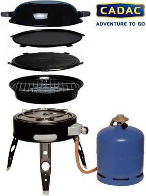 Barbecue gaz safari chef cadac - Cadac safari chef ...
