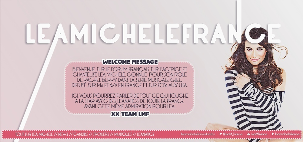 Lea Michele France Forum