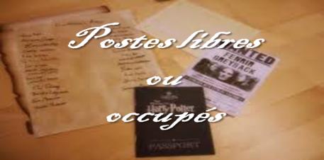 Postes Libres & Occupés